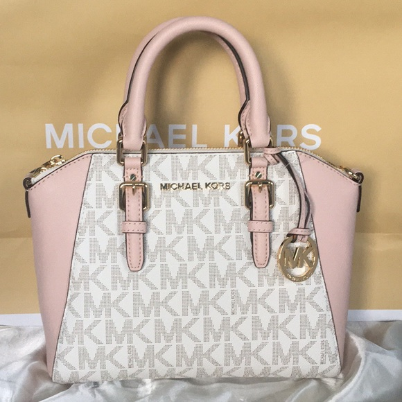 75cad5b40351 Michael Kors Bags | Nwt Ciara Pink Vanilla Crossbody Bag | Poshmark